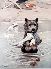 Bonzo the Dog: The Faithful Heart art by George E Studdy