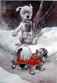 Bonzo the Dog Oh Help art by George E Studdy