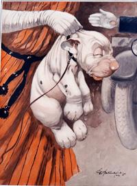 Bonzo the Dog: Ignominy art by George E Studdy