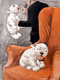 Bonzo the Dog: A Miscarriage of Justice art by George E Studdy