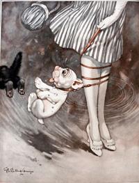 Bonzo the Dog: A Pull to Leg art by George E Studdy