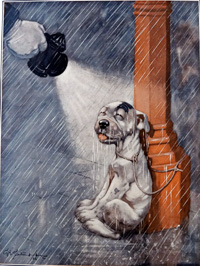 Bonzo the Dog: Nobody Loves Me art by George E Studdy