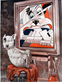 Bonzo the Dog: Master art by George E Studdy