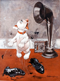 Bonzo the Dog: His Broadcast Masters Voice art by George E Studdy