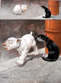 Bonzo the Dog: My Mistake art by George E Studdy