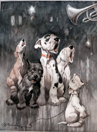Bonzo the Dog: The Beggars Opera art by George E Studdy