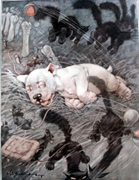 Bonzo the Dog: Such Stuff art by George E Studdy