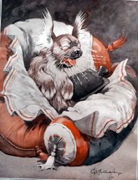 Bonzo the Dog Tisshoo art by George E Studdy
