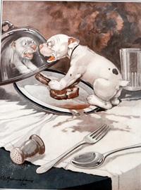 Bonzo the Dog: Jimmy Wild art by George E Studdy