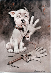Bonzo the Dog: Glove art by George E Studdy