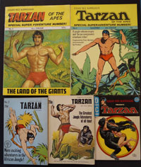 Collection of 11 Tarzan and Edgar Rice Burroughs books