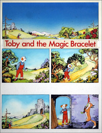 Toby and the Magic Bracelet (COMPLETE 7 PAGE STORY) art by Doris White
