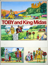 Toby Meets King Midas (COMPLETE 3 PAGE STORY) art by Doris White
