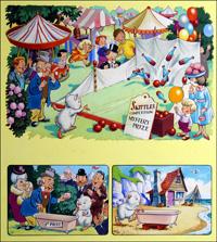 Gulliver Guinea Pig Skittles art by Fred White