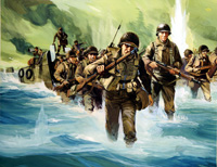 Anzio art by Gerry Wood