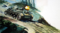 Battle of the Bulge art by Gerry Wood