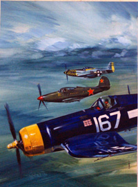 20% OFF ALL MILITARY  ART:  Flying Ghosts by Gerry Wood
