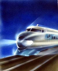 The Bullet Train art by 20th Century unidentified artist