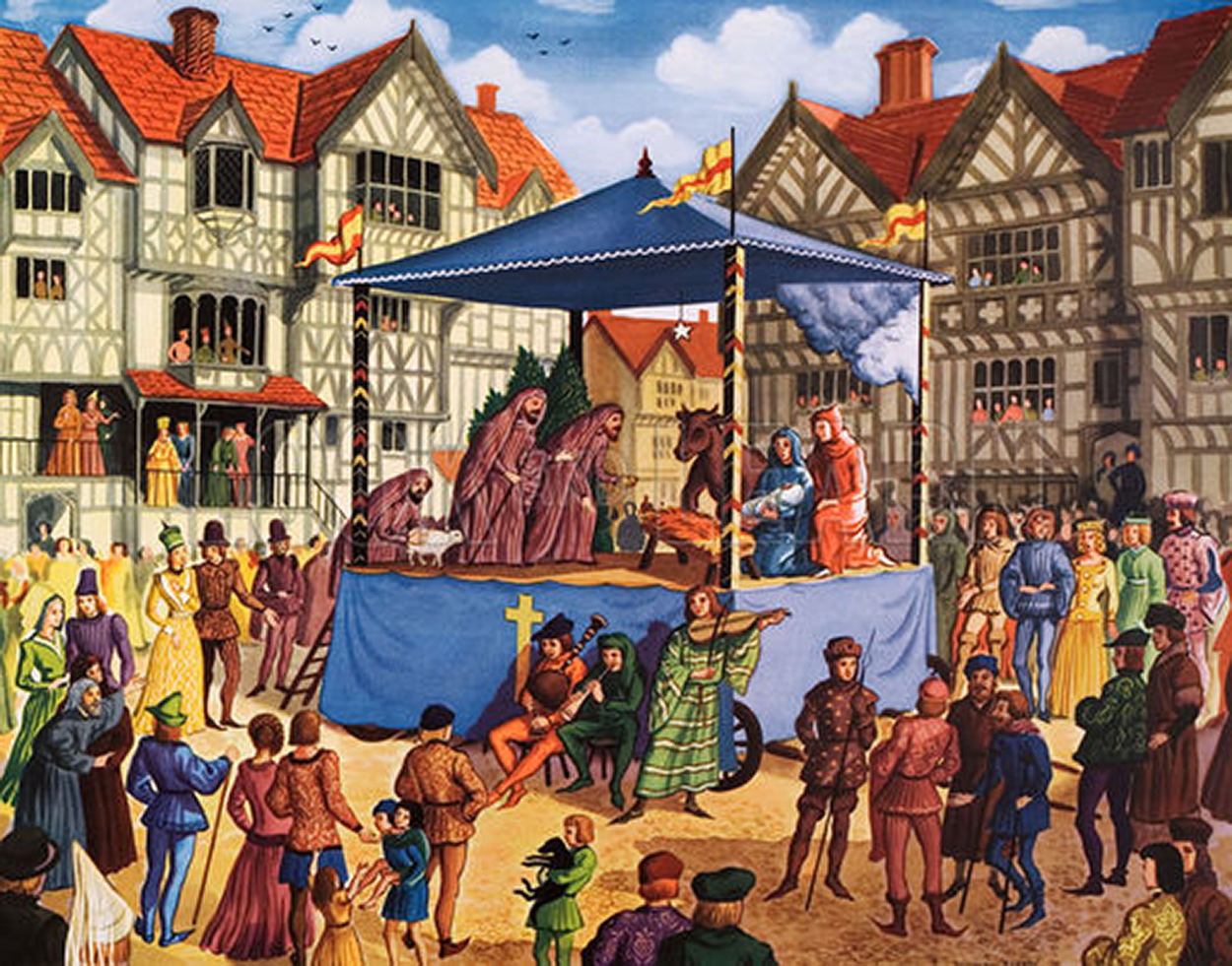 mystery plays The latest tweets from york mystery plays (@yorkmysteryplay) 9th, 12th & 16th september 2018 will see our famous medieval mystery plays, with local performers, taking to the streets on pageant waggons.