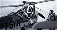 Pilot Training art by 20th Century unidentified artist