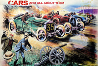 Cars and All About Them art by 20th Century unidentified artist