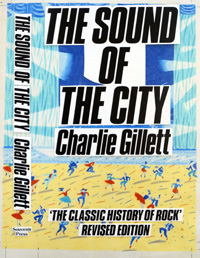 The Sound of The City book cover art art by 20th Century unidentified artist