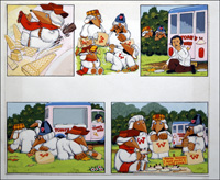 The Wombles -  Ice Cream Adventure art by 20th Century unidentified artist