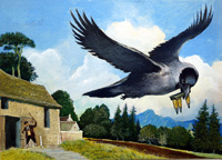 Kirijee the Jackdaw art by G W Backhouse