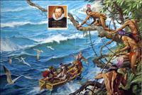 Francis Drake art by Severino Baraldi