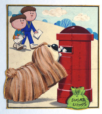 Magic Roundabout: Dougal and the Letterbox art by David Barnett