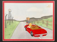 Beavis & Butthead - Animation Cel art by MTV Studios