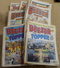 BARGAIN set of 88 Beezer and Topper comics from 1981 - 1994