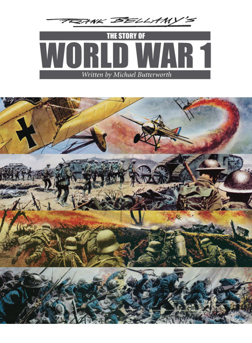 Story of World War I cover (click for bigger picture)