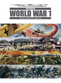 Frank Bellamy's The Story of World War One (two editions)