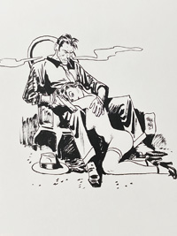 Comfort is a Hitman named Torpedo art by Jordi Bernet
