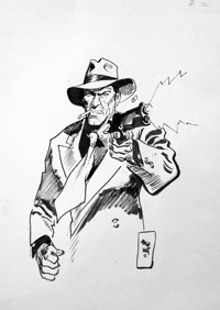 Torpedo The Gunman art by Jordi Bernet