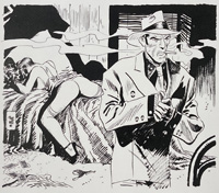 Sleep Tight art by Jordi Bernet