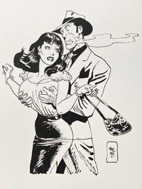The Big Squeeze art by Jordi Bernet