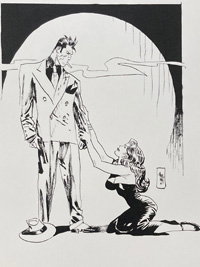 Please Mr. Torpedo art by Jordi Bernet