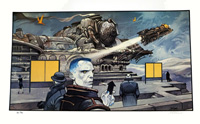 Le Dernier Train art by Enki Bilal