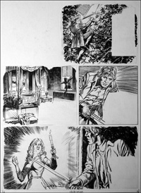 Black Bartlemy's Treasure - Candlelight (TWO pages) art by Jesus Blasco
