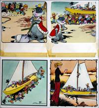Edward and The Jumblies - Boating art by Jesus Blasco