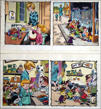 Edward and The Jumblies - Birthday (TWO Pages) art by Jesus Blasco