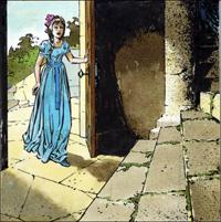 Sleeping Beauty - The Fateful Tower art by Jesus Blasco