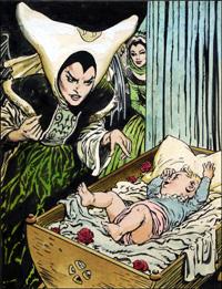 Sleeping Beauty - The Curse art by Jesus Blasco