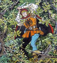 Sleeping Beauty - Through The Wild Forest art by Jesus Blasco