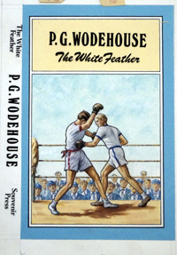 The White Feather by P.G. Wodehouse art by Stephen Richard Boldero