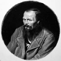 Fyodor Dostoievski art by Ralph Bruce