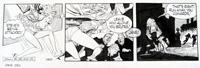 Jane daily strip 590 art by John M Burns