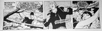 Modesty Blaise daily strip 4572a by John M Burns